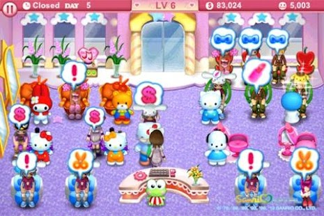 Hello Kitty Beauty Salon Intl - screenshot thumbnail