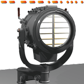 Navy Signal searchlight