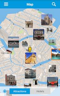 Venice City Guide Map