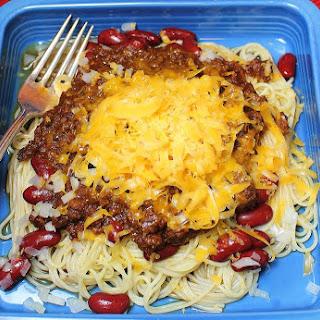 Crockpot Cincinnati Chili.