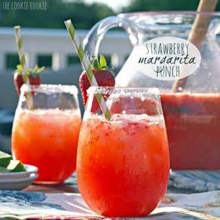Strawberry Margarita Punch.