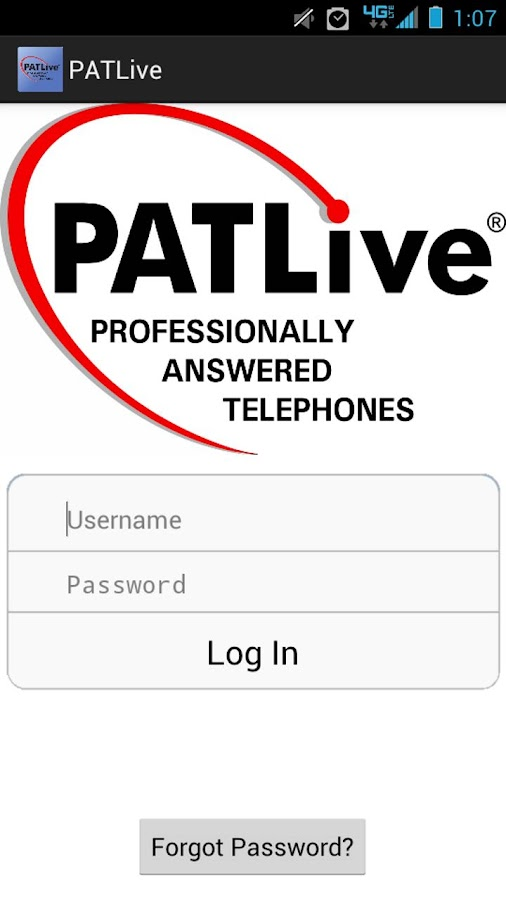 PATLive - screenshot