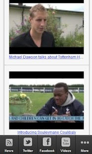 Tottenham Hotspurs Fan News - screenshot thumbnail
