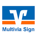 Multivia Sign icon