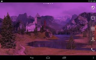Screenshot of Autumn Meadows Live Wallpaper