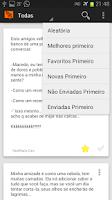 Screenshot of Torpedos - Mensagens Prontas
