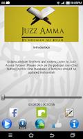 Screenshot of Juz Amma Tafseer