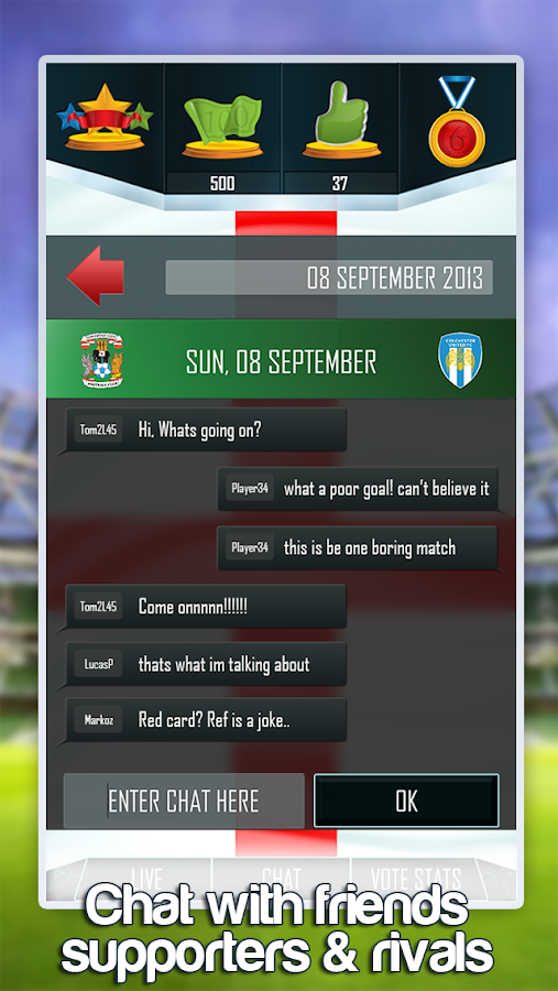 Football Vote - screenshot