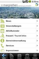 Screenshot of Gemeinde St. Margrethen