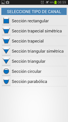 Channel Hydraulic Calculator - screenshot
