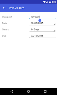 Invoice Maker - screenshot thumbnail