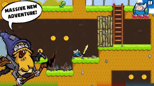 لعبة Adventure Time Game Wizard v1.0.6 [Mod Money] لجوالات الاندرويد