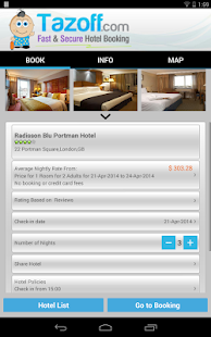 Hotels with Deals - Tazoff.com- screenshot thumbnail