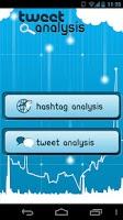 Screenshot of Tweet Analysis for Twitter