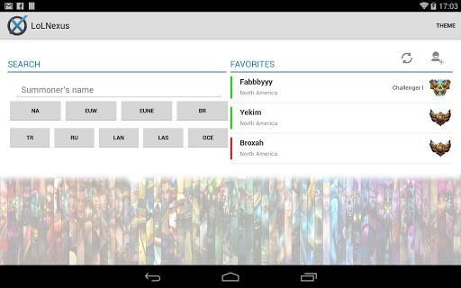 【免費娛樂App】LoLNexus - LoL Match Scouter-APP點子