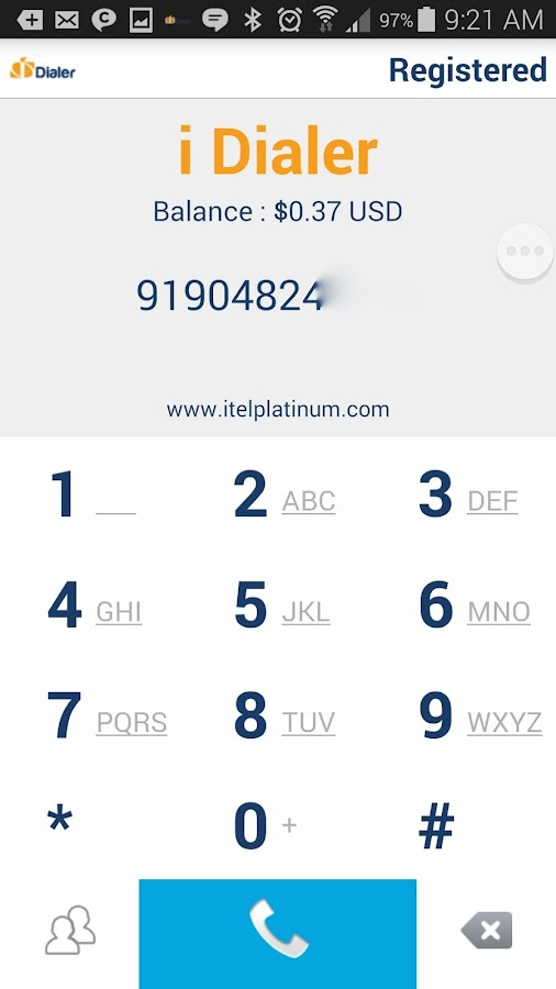 TALKY PLUS I DIALER- screenshot