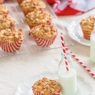 Banana ANZAC muffins