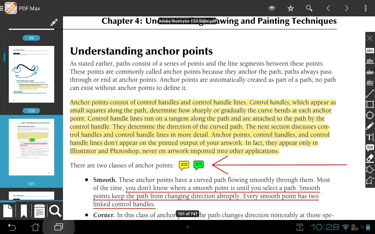 The PDF Expert for Android - screenshot