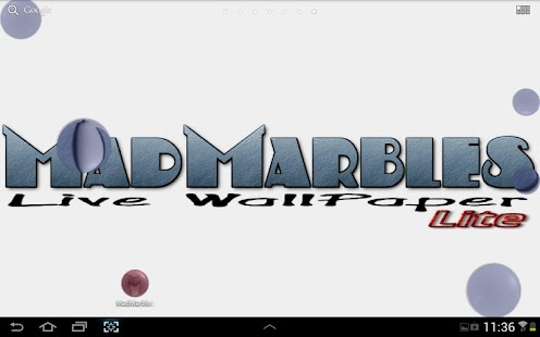 Mad Marbles Lite LWP - screenshot thumbnail