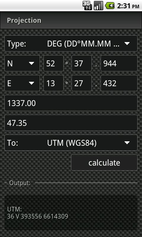 GCC - GeoCache Calculator - screenshot
