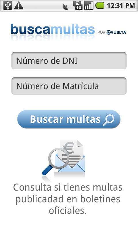 Buscamultas - screenshot