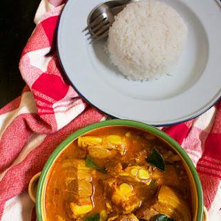 Southern Thai Pork Rib Curry (แกงพริกกระดูกหมู).