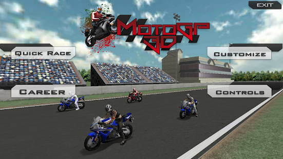 MotoGp Super Bike Racing 2014 screenshot 1