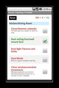 House Cleaning Checklist- screenshot thumbnail