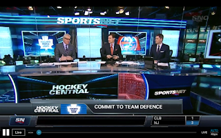 Screenshot of Sportsnet Now