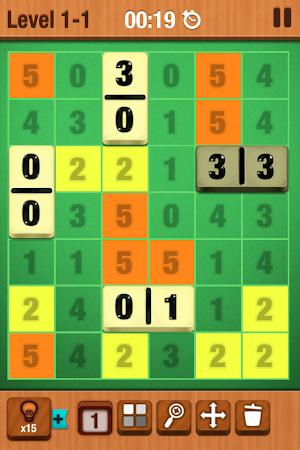 Dominosa - Puzzle Domino Game 1.0.2 screenshot 101655