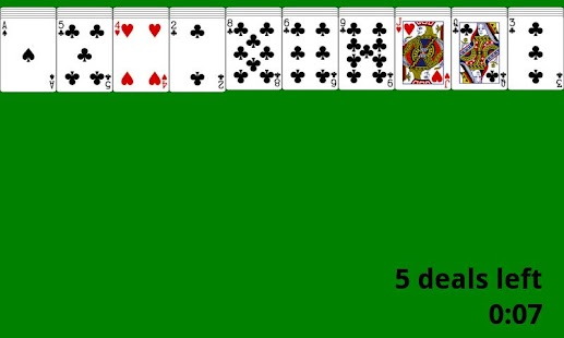 Card Game - Solitaire- screenshot thumbnail