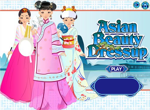 Asian Beauty Dressup