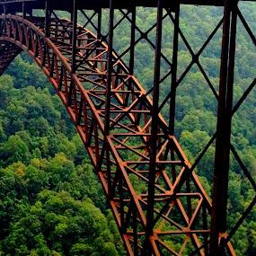 West Virginia's Finest by Christopher Charlton - Buildings & Architecture Bridges & Suspended Structures ( structure, travel, bridge, scenery, landscape )