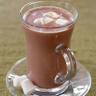 Deluxe Hot Chocolate With Marshmallows.
