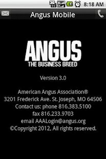 Angus Mobile- screenshot thumbnail