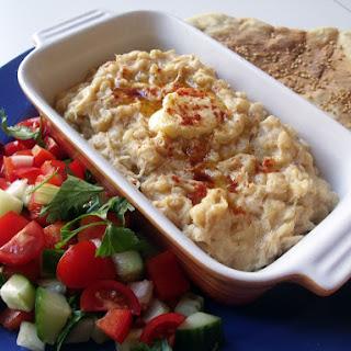 Armenia ❀ Harissa (Chicken Porridge) and Lavash Bread.