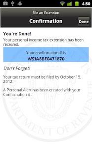 Massachusetts WebFile Mobile- screenshot thumbnail