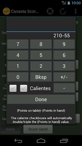 【免費休閒App】Canasta ScoreKeeper (Trial)-APP點子