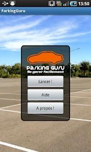 Parking Guru- screenshot thumbnail
