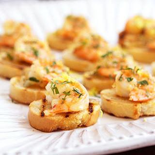 Shrimp Bruschetta al Limoncello.