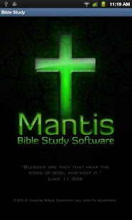 Mantis Bible Study - screenshot thumbnail