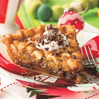 Chocolate-Macadamia Pie.