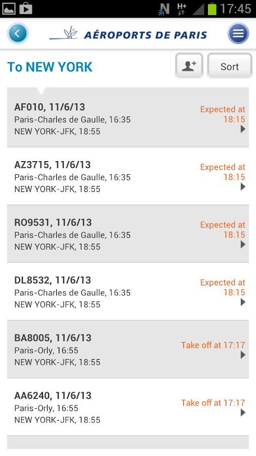 My Airport–Aeroports de Paris- screenshot