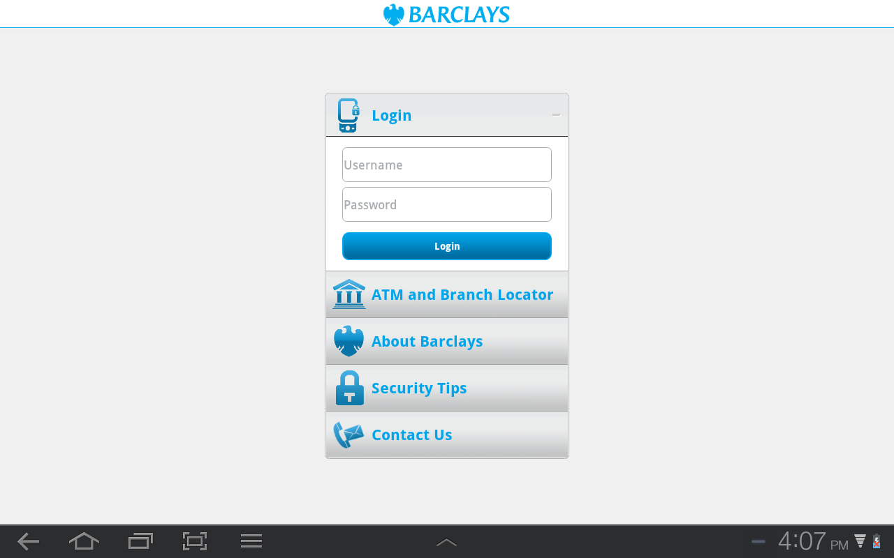 Barclays Tanzania - screenshot