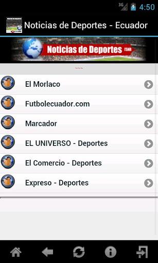 Noticias de Deportes - Ecuador
