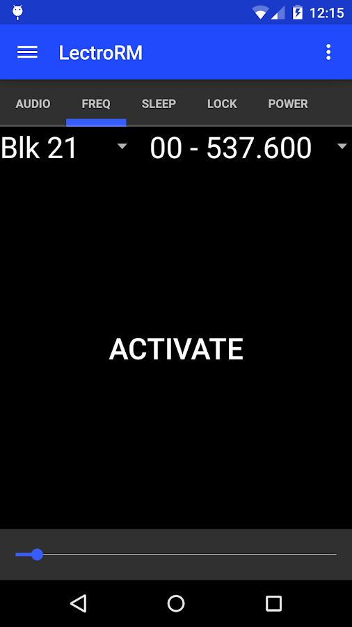 LectroRM - screenshot