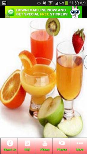 The Tasty Fruit Drinks