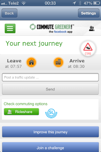 Commute Greener – smarter ways- screenshot thumbnail