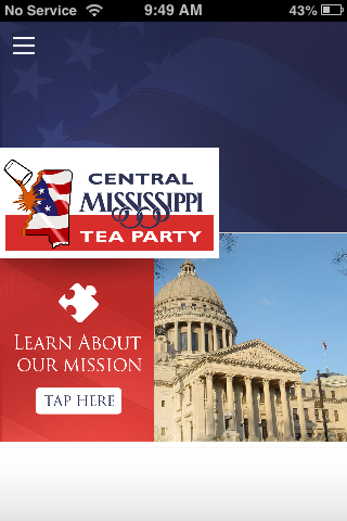 Central Mississippi Tea Party
