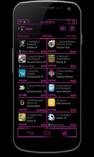CM10/AOKP Theme: BERRY BLAST - screenshot thumbnail